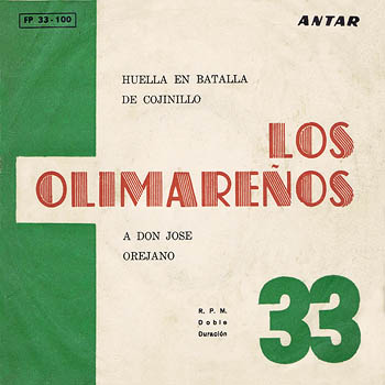 Antar FP 33-100 (EP) (Los Olimareños) [1966]