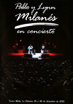 Pablo y Lynn Milanés en concierto (Pablo Milanés - Lynn Milanés) [2011]