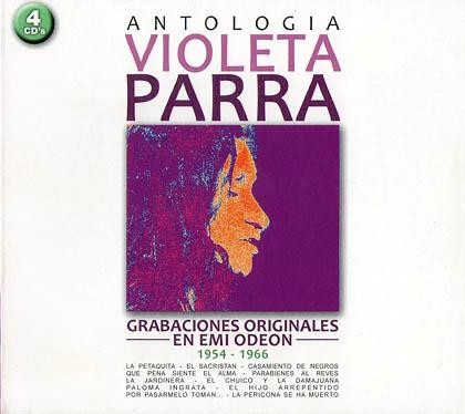 Antología Violeta Parra (Violeta Parra)