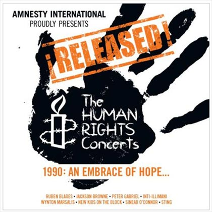 ¡Released! The Human Rights Concerts: 1990 - An Embrace of Hope (Obra colectiva) [2013]