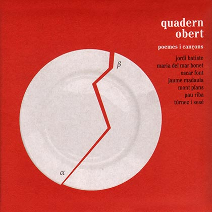 Quadern obert. Poemes i can�ons (Obra col�lectiva)