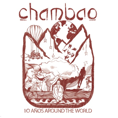 10 años around the world (Chambao) [2013]