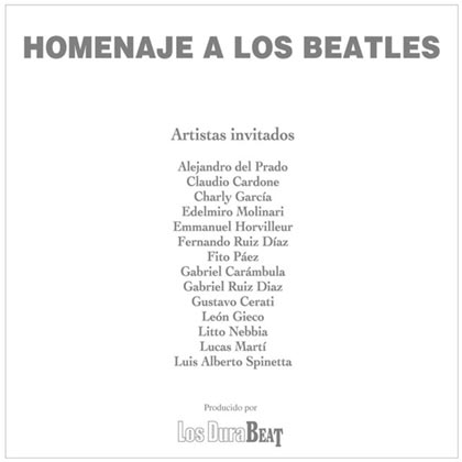 Homenaje a Los Beatles (Obra colectiva)