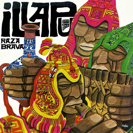 Raza brava (Reedición española) (Illapu) [1979]