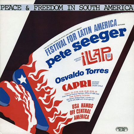 Peace & Freedom In South America (Pete Seeger, Illapu, Osvaldo Torres y Capri) [1987]