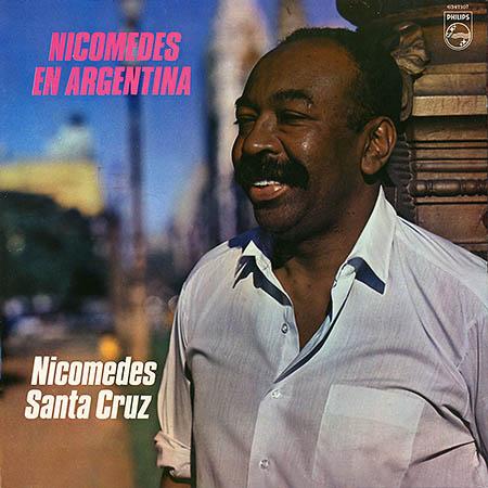 Nicomedes en Argentina (Nicomedes Santa Cruz)