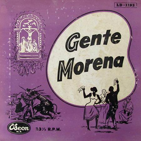 Gente Morena – Ritmos negroides del Perú (Gente Morena – Óscar Avilés) [1957]
