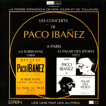 Les concerts de Paco Ibáñez à Paris (Paco Ibáñez)