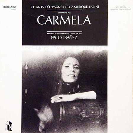 Canciones de España y América Latina (Carmela con Paco Ibáñez) [1969]
