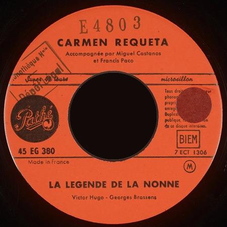 La légende de la nonne (Carmen Requeta)