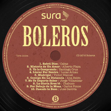 Boleros (Obra colectiva) [2016]