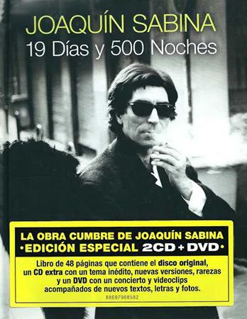19 días y 500 noches (Edición especial) (Joaquín Sabina) [2011]