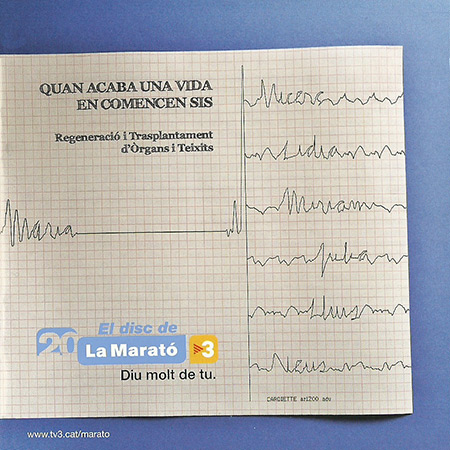 El disc de La Marató 2011 (Obra col·lectiva) [2011]