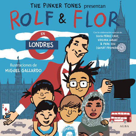 Rolf & Flor en Londres (The Pinker Tones) [2015]