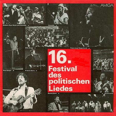 16. Festival des politischen Liedes (Obra colectiva) [1986]