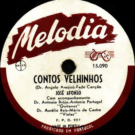 Fados de Coimbra (Melodia 10590) (José Afonso) [1953]