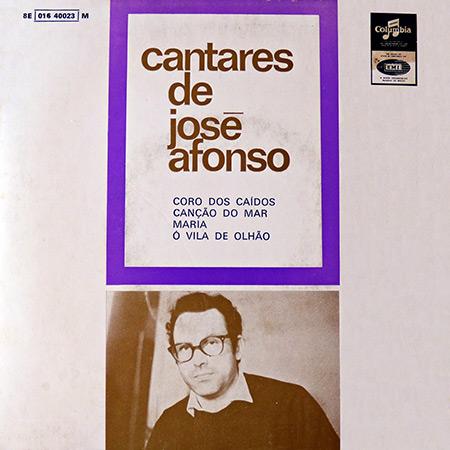Cantares de José Afonso (José Afonso) [1969]