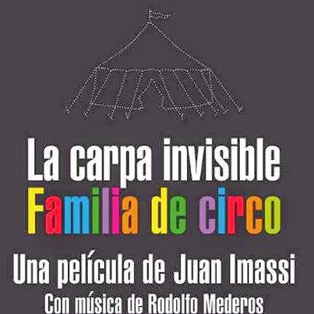 La carpa invisible. Familia de circo BSO (Obra colectiva) [2013]