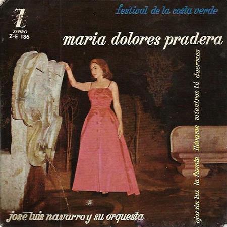Primer Festival de la Costa Verde (María Dolores Pradera) [1960]