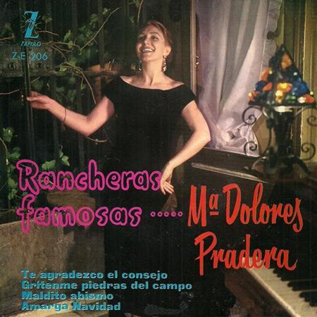 Rancheras famosas (María Dolores Pradera) [1960]