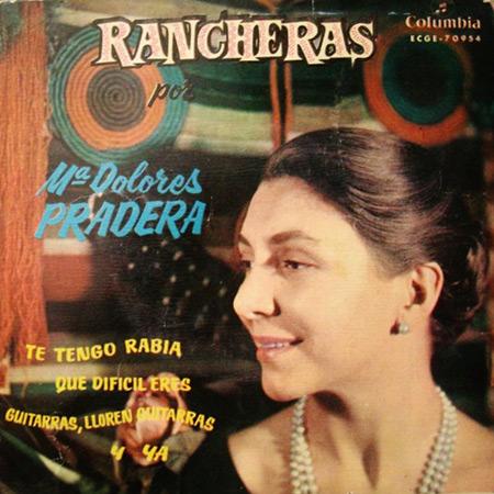 Rancheras (María Dolores Pradera) [1960]