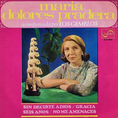Sin decirte adiós (María Dolores Pradera con Los Gemelos) [1968]