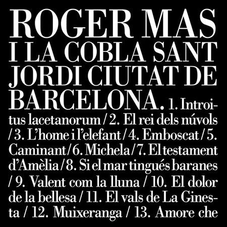 Roger Mas i la Cobla Sant Jordi Ciutat de Barcelona (Roger Mas  i la Cobla Sant Jordi Ciutat de Barcelona) [2012]