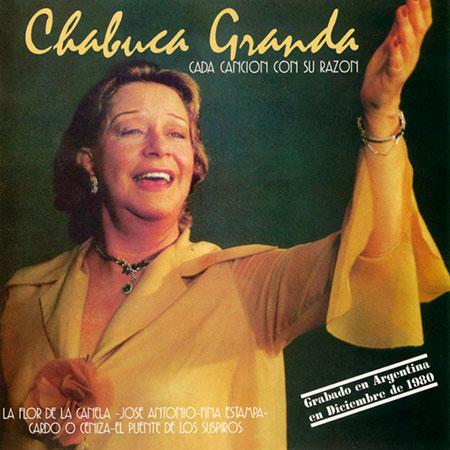 Cada canción con su razón (Chabuca Granda) [1981]