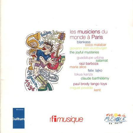 Fête de la Musique 96 - Les musiciens du monde à Paris (Obra colectiva) [1997]